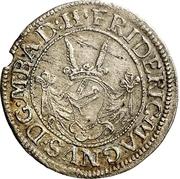 2 Kreuzer - Friedrich VII. Magnus – avers