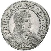 6 Kreuzer - Friedrich VII. Magnus – avers