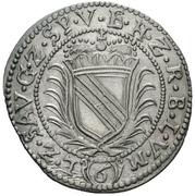 6 Kreuzer - Friedrich VII. Magnus – revers