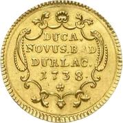 1 Ducat - Karl Friedrich (Administrationsdukat) – revers
