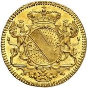 1 ducat Karl Wilhelm – avers