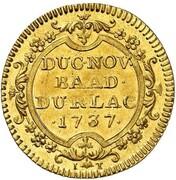 1 ducat Karl Wilhelm – revers