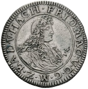 12 Kreuzer - Friedrich Magnus VII. – avers