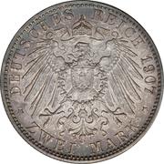 2 mark Friedrich I mort de Friedrich I – revers
