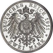 2 mark Friedrich II – revers