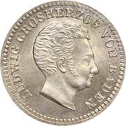 10 Kreuzer - Ludwig I – avers