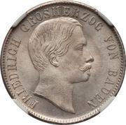 ½ gulden Friedrich I – avers
