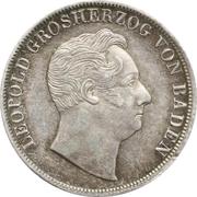 1 Ausbeute Gulden - Leopold I – avers