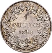 1 Gulden - Friedrich I – revers