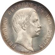1 gulden Friedrich I - Fête de tir – avers