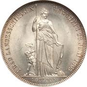 1 gulden Friedrich I - Fête de tir – revers