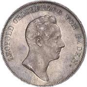 1 kronenthaler Leopold I – avers