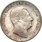 2 gulden Leopold I – avers