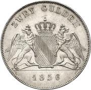 2 Gulden - Friedrich I – revers