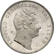 2 Thaler / 3½ Gulden - Leopold I – avers