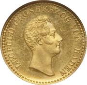 1 ducat Leopold I – avers