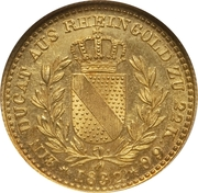 1 ducat Leopold I – revers