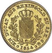 1 ducat Friedrich I – revers