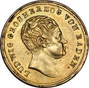 10 gulden Ludwig I – avers
