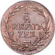 ½ kreutzer Karl – revers