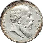 5 mark Friedrich I -  avers