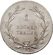 1 Kronenthaler - Karl Ludwig Friedrich – revers