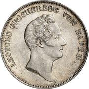 1 Kronenthaler - Karl Leopold Friedrich – avers