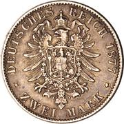 2 mark Friedrich I – revers