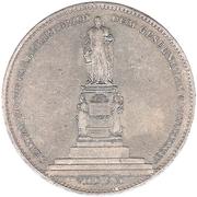 2 thaler / 3½ gulden Leopold – revers