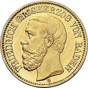 10 Mark - Friedrich I – avers