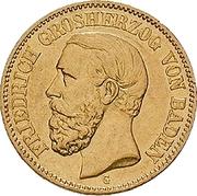 20 mark Friedrich I – avers