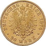 20 mark Friedrich I – revers