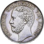 1 vereinsthaler Friedrich I – avers