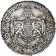1 vereinsthaler Friedrich I – revers
