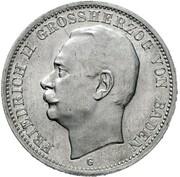 3 mark Friedrich II – avers