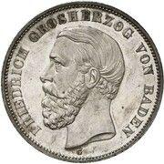 5 mark Friedrich II -  avers