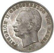 5 mark Friedrich II -  revers