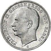 3 mark Wilhelm II (Essai) -  avers