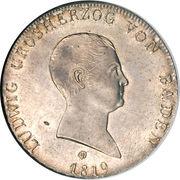1 kronenthaler Ludwig I – avers
