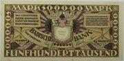500,000 Mark (Badische Bank) – avers
