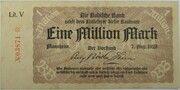 1,000,000 Mark (Badische Bank) – avers