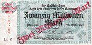 2,000,000,000 Mark (Badische Bank) – avers
