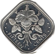 15 cents -  revers