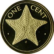1 cent -  revers