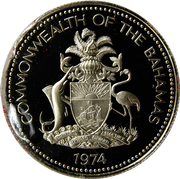 50 cents - Elizabeth II  (Silver Proof Issue) – avers