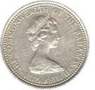 5 cents Elizabeth II – avers