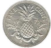 5 cents - Elizabeth II – revers