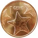1 cent (Petit module - Magnétique) – revers