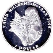 1 dollar (Troisième Millénaire) – revers