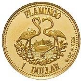 1 dollar (Bullion - Flamant) – revers